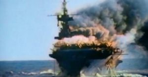 Rare Kamikaze Footage in Color from WW2